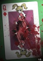 Harley Quinn - Deadly Poker by PaperMoon92