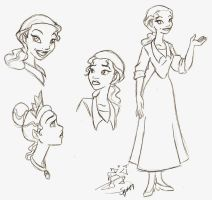 Tiana Practice by digitalstitch626