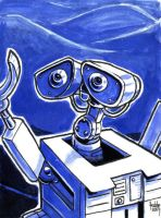 Daily Sketches Wall-E by fedde