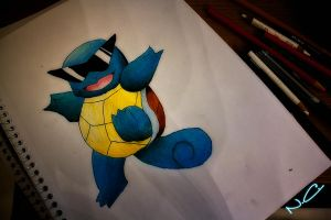 Squirtle by NChicaGFX