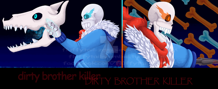 Dirty Brother Killer  :SPEEDPAINT: by Fluffytail-Zombie