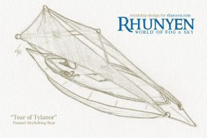 Tear of Tylanor - Windship by Rhunyen