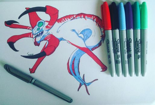 reaper leviathan by fernothedragon