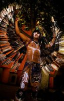 Mayan Warrior by rawPhotog
