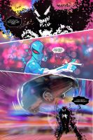 Spider Verse Digital Spider-man fan comic page 4 by JoeyVazquez