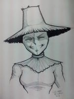 NYCC Commissions - Scarecrow's Daughter by LucianoVecchio