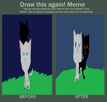 Before and After meme by BouncerArceus