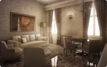 Molin del Cuoridoro Palace - Living room by visivamente