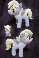 Derpy Hooves - My Little Pony Plush -for sale- by fluffylovey