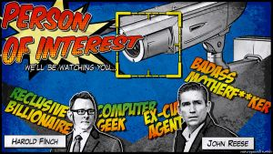 Comic ver. Person of Interest by ssuzie