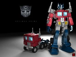 Optimus Prime by zearz