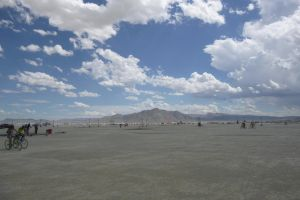 Burning Man 2012 - The Black Rock Mountains by Starjuice