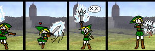 Zelda Comics 1: Game over by PriestessBeth