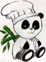 Chef Panda is a Chef by EmoHoodieDude