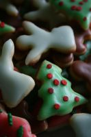 Christmas cookies by chrissie-ness