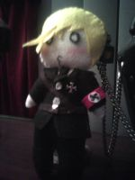 Emmerich Plushie for Nele by ToxicKrieg
