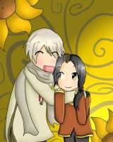 APH - My Little Sunflower by Kimimi72