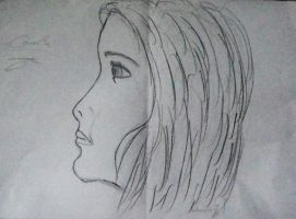 portrait of my sister by 99andreea
