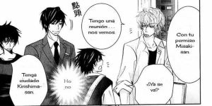 Momento epico de Junjou Romantica by Coloringful