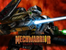MechWarrior 4 BK Splash Screen by Mecha-Zone