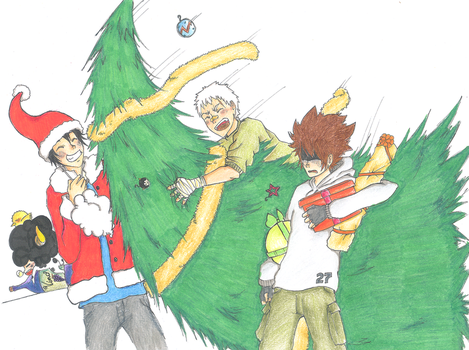 Vongola Christmas by Kigea