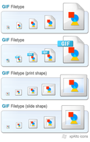 xpAlto GIF Filetype Icons by graywz