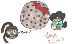 Angie's Cookie Present For Marcus by AngieTheCatGuardian