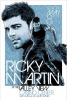 Ricky Martin Poster Art by meltendo