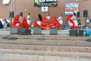 Puerto Rican/Latin Fest, Flowing Dress and Dance13 by Miss-Tbones