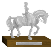 Sussex Dressage Grand Kur Trophy - Second place by femalefred
