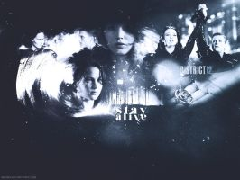..::Stay Alive::.. The Hunger Games Wallpaper by me969