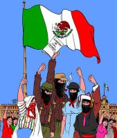 The Zapatista Art Gallery by Latuff2