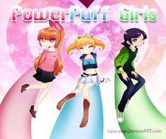 .:2014:. PowerPuff Girls by Aria-Pari