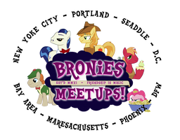 Bronies Meetups logo v3 by purpletinker