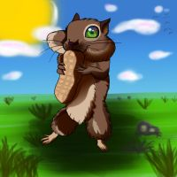 Little-squirre, by FruitMuncher