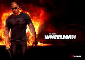 Wheelman Hero Shot by atomhawk