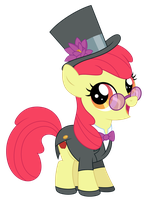 Let's Play Dress Up, Apple Bloom! by Reitanna-Seishin