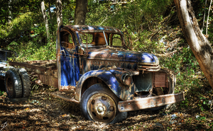 Old Chevy Truck HDR by N12X93R