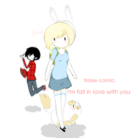 fiolee comic i'm fall in love with you by blossomlikereadbook