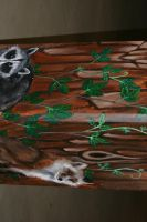 Finished Mural - detail 1 by horusfeathers