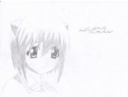 Young Lucy Elfen Lied by Alice-Lidell