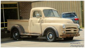 An Early 50's Dodge Pickup by TheMan268