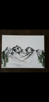 Simple Mountains by TheJennaBrown