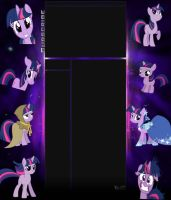 Twilight sparkle backround by Twilightsparkless
