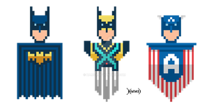 Pixel-hero-logo by hamex