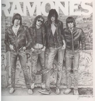 The Ramones by Jenni-Rose