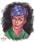 Even more portrait practise by ManishaChan