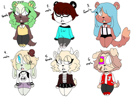 Aesthetic adopts by tacobxar