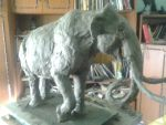 Steppe Mammoth WIP2 by Waspdrake