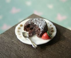 Chocolate Fondant - Lava Cake by PetitPlat